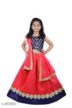 Checkout this latest Lehanga Cholis Product Name: *Stylish Kid's Lehanga cholis* Sizes:  2-3 Years, 3-4 Years, 4-5 Years, 5-6 Years, 6-7 Years, 7-8 Years, 8-9 Years, 9-10 Years Country of Origin: India Easy Returns Available In Case Of Any Issue   Catalog Rating: ★4.2 (4540)  Catalog Name: Stylish Kid's Lehanga cholis Vol 1 CatalogID_50893 C61-SC1137 Code: 073-465863-219