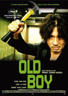 Oldboy (2003) Corea do Sur. Dir: Park Chan-Wook. Suspense. Películas de culto - DVD CINE 258
