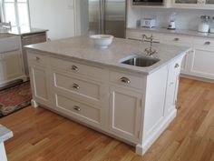Custom Kitchen Designed By Churchville Kitchen U0026 Home Design, White Painted  Cabinetry, White Carrera