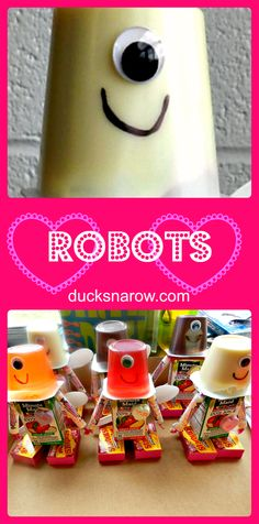 Robot party favor sn