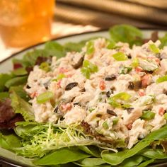 Go Greek with this Mediterranean Tuna Salad - great for summertime. | Health.com