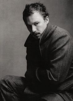 Heath Ledger and Christopher Nolan by Annie Leibovitz