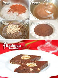 Pekmezli Tatlı Tarifi Chocolate Recipes, Chocolate Cake, Turkish Sweets, Pastry Cake, Ice Cream Recipes, Deserts, Muffin, Food And Drink, Cooking