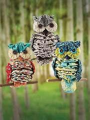 "Beginner Sewing Pattern - Yo-Yo ""Al"" Owl Sewing Pattern"