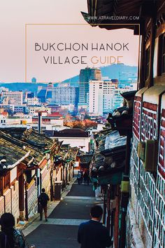 Bukchon Hanok Village (북촌한옥마을) Seoul South Korea, is a residential area north of central Seoul between Gyeongbokgung and Changdeokgung palaces. It contains Seoul's largest concentration of hanoks in one area. #seoul #korea #southkorea #travel #travelling #amazing #adventure #adventuretime #asia #wanderlust #inspire #travelguide #beautiful