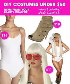 DIY Halloween Costumes Under $50 — Lady Gaga
