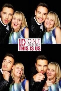 Awwww, Liam and his mum!(: