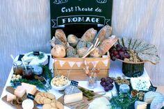 Bar à fromages : une idée de buffet originale ! #Guinguette