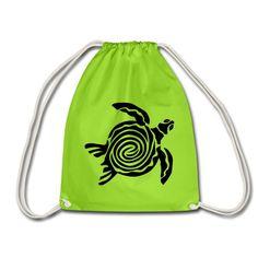 Ocean Lovers | Schildkröte - Turnbeutel Baby Accessoires, Drawstring Backpack, Ocean, Backpacks, Bags, Scubas, Sports Activities, Cinch Bag, Men And Women