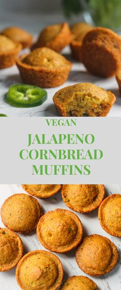 The BEST Vegan Jalapeño Cheesy Cornbread (aka) mexican cornbread. This is an easy twist on classic cornbread recipe that can be customized, is vegan, dairy-free, egg-free, and contain Jalapeno Cornbread Muffins, Vegan Cornbread, Cheesy Cornbread, Mexican Cornbread, Vegan Lunches, Vegan Snacks, Vegan Dinners, Vegan Recipes, Cooking Recipes