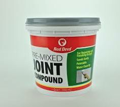 joint compound is one of the ingredients of paper clay - here is explained what joint compound is called outside USA and what it cosnsists of