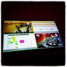Scuola holden #digitalsignage #Padgram