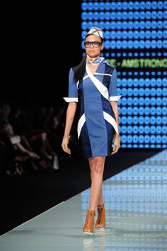 Miami Fashion Week 2014 AOS Eastern Airlines Hat by Elaine Scantlen