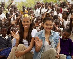 The Saturdays visit Tanzania