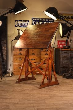 Drafting Tables Vintage Table And Antique