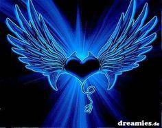 Wings Wallpaper, Heart Wallpaper, Love Wallpaper, Wallpaper Backgrounds, Love Heart Images, Heart Pictures, Cute Heart Drawings, Heart With Wings, Heart Background