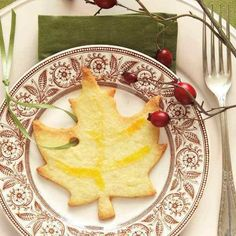 Leaf Ornament, Thanksgiving Deco