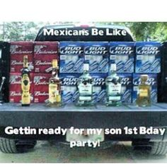 Getting ready for mijos party! LMAO.