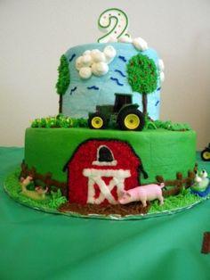 Photo Gallery - Photo of Down on The Farm Birthday Cake