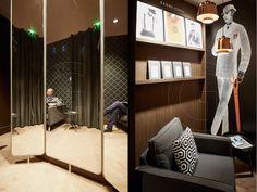 TAILOR CORNER store by GENEROUS, Paris – France » Retail Design Blog
