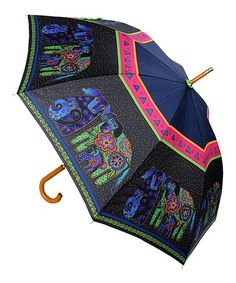 Another great find on #zulily! Black Dogs & Doggies Stick Umbrella #zulilyfinds