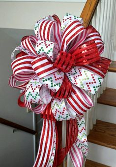 Your place to buy and sell all things handmade Christmas Ribbon, Christmas Tree Toppers, Christmas Holidays, Christmas Wreaths, Christmas Decorations, Holiday Decorating, Antique Bottles, Vintage Bottles, Vintage Perfume