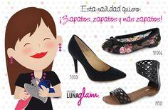 Esta #navidad quiero #zapatos, zapatos y más zapatos   #Lunaglam
