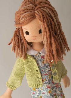 Liberty Fabric Doll Wardrobe: 6 pieces