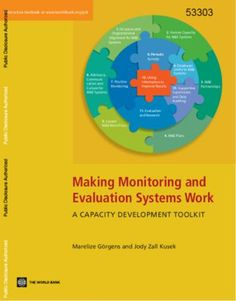 Making Monitoring and Evaluation Systems Work : A Capacity Development Toolkit