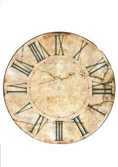 Новости Clock Craft, Diy Clock, Clock Printable, Printable Designs, Grandfather Clock, Paper Houses, Vintage Pictures, Clock Faces, Bird Houses