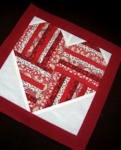Love this design, maybe for a wall quilt in my bedroom???    'be still my heart' block tutorial