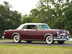 1953 Packard Caribbean Convertible Maintenance/restoration of old/vintage vehicles: the material for new cogs/casters/gears/pads could be cast polyamide which I (Cast polyamide) can produce. My contact: tatjana.alic@windowslive.com