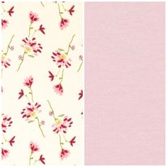 Pink and floral fabrics for the Spring Collection. Love!