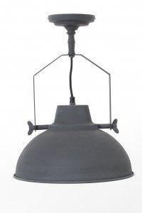 Plafondlamp Urban 30cm vintage grey