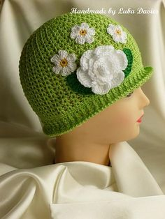 SUMMER cloche Free Pattern                                                                                                                                                                                 More