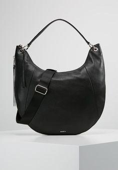 46fb532291eb7e DKNY TOMPSON PEBBLE - Handbag - black/silver - Zalando.co.uk #dknyhandbags.  Handbags Brands