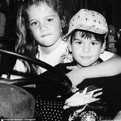 Her perfect man! Khloe Kardashian shared a sweet throwback picture of her and younger brother Rob as they rang in 2015 together