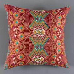 Kaya Brocade Cushion - Mink