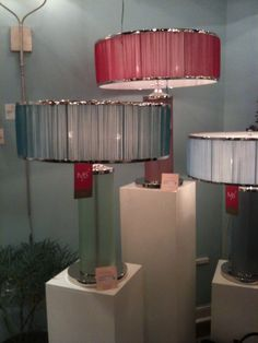 Sultana Table Lamps from Marjorie Skouras High Point Market, Interior Design Business, Table Lamps, Staging, Light Colors, Interiors, Base, Colorful, Lighting