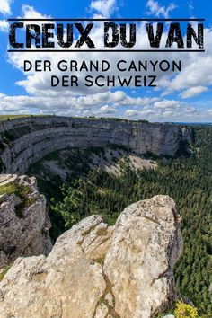 The Creux du Van is one of those incredibly fascinating destinations in Switzerland, which leave you amazed at the sight. No wonder that the spectacular Creux du Van is also known as the Grand Canyon of Switzerland. Europe Destinations, Switzerland Destinations, Places In Switzerland, Switzerland Vacation, Europe Travel Tips, Travel Goals, Vacations To Go, Reisen In Europa, Culture Travel