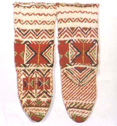 Handmade Bulgarian socks.