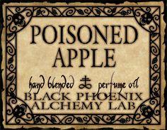 Poisoned Apple Perfume.