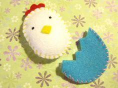 for her basket Unicorn Crafts, Bunny Crafts, Easter Crafts For Kids, Felt Crafts, Diy Crafts, Easter Ideas, Diy Ostern, Operation Christmas Child, Felt Decorations