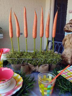 Karotten Gestaltung Ostern Deko Ideen