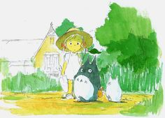 My Neighbor Totoro (1988) - Character Design