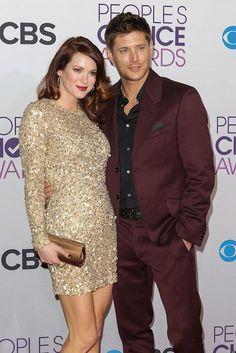 Jensen Ackles and spouse Danneel Harris...
