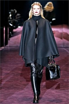 Black Bon Ton - Gucci, Fashion Fall Winter 2012/2013