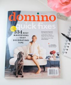 Domino Magazine: QuickFixes - Home - Creature Comforts - daily inspiration, style, diy projects + freebies