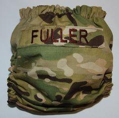 Custom Multicam Military OS Diaper Cover