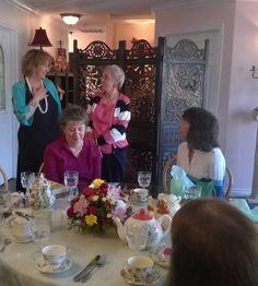 Elegant Tea Time Fundraiser, September at Myrtles Tea House and Herbery in Ridgefield, WA. Myrtle, Fundraising, Tea Time, Oregon, Foundation, September, Elegant, House, Classy